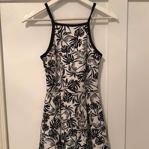 Soprano Black and White Dress